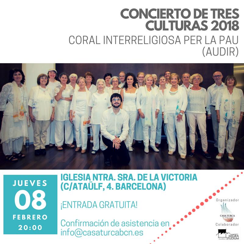 Cartel - Concierto Tres Culturas 2018 (Barcelona).png