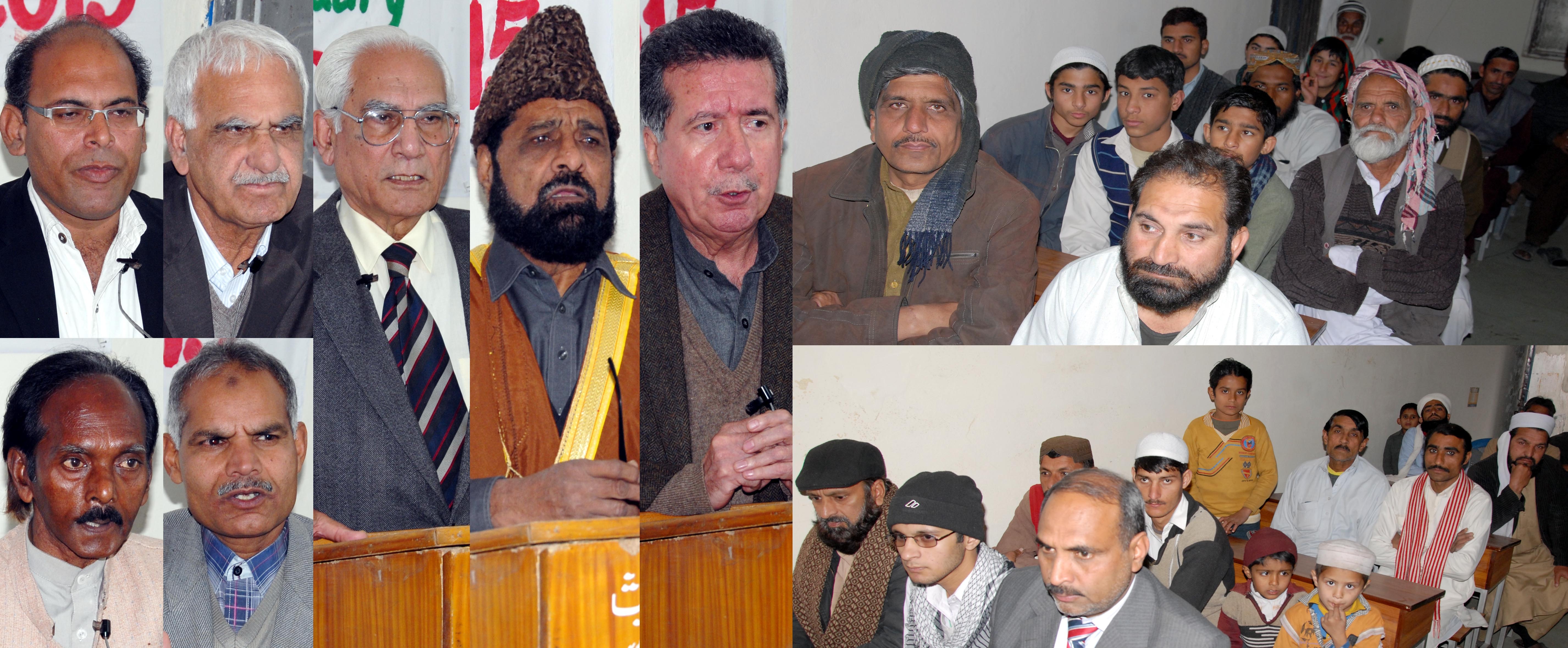 From left to right  Mr Afrasiab Khan Chairman Human Right Comittee Senate Pakistan  Dr Allama G R Chishti Chairman UIPM  Mr Ahmad Raza Qusoori Adv. Of APML  Pastor Salman Nasri Pastor Saleem Masieh Professor Mehrdad Bah.jpg