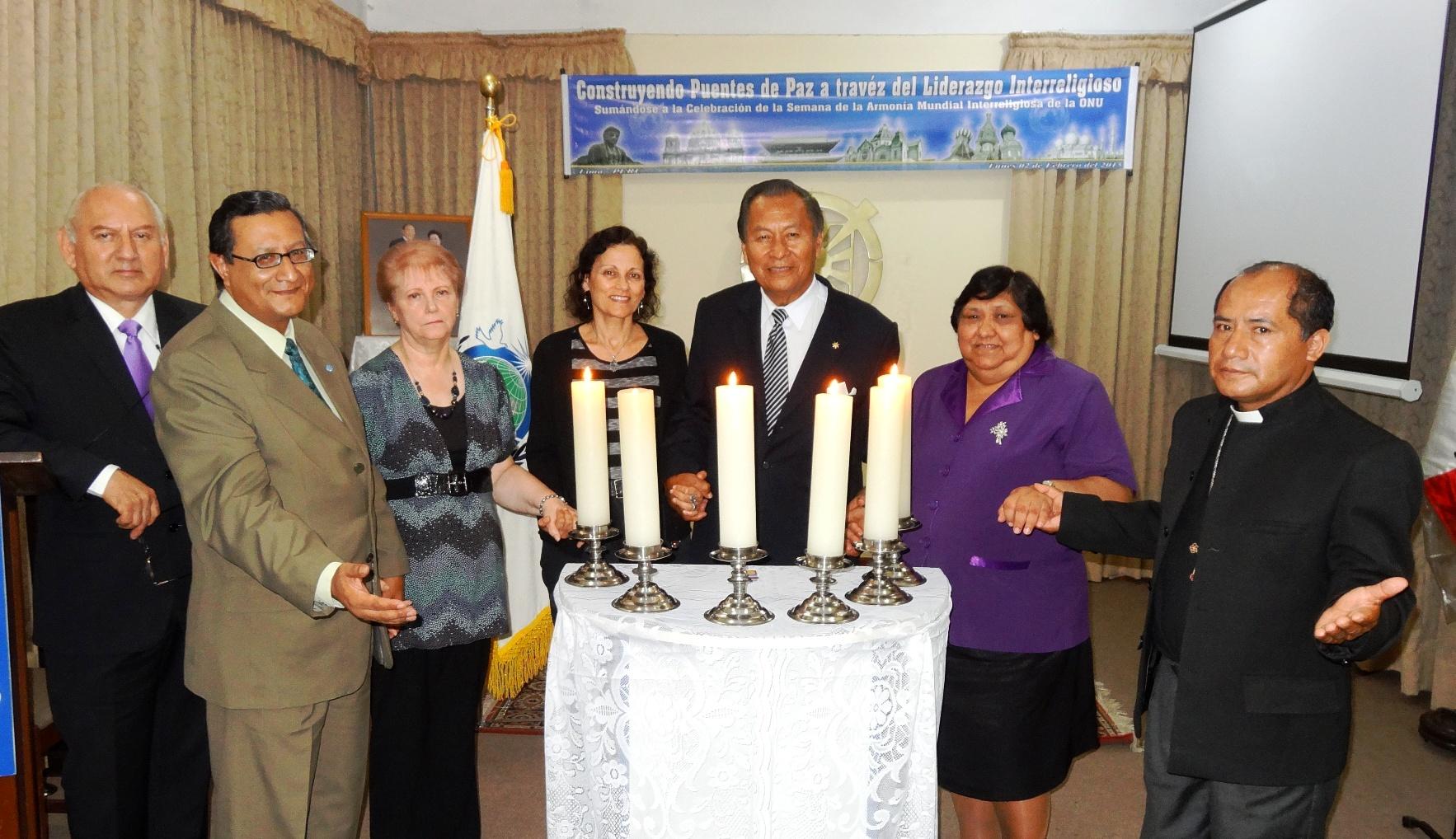 Lima Candle ceremony participants.jpg