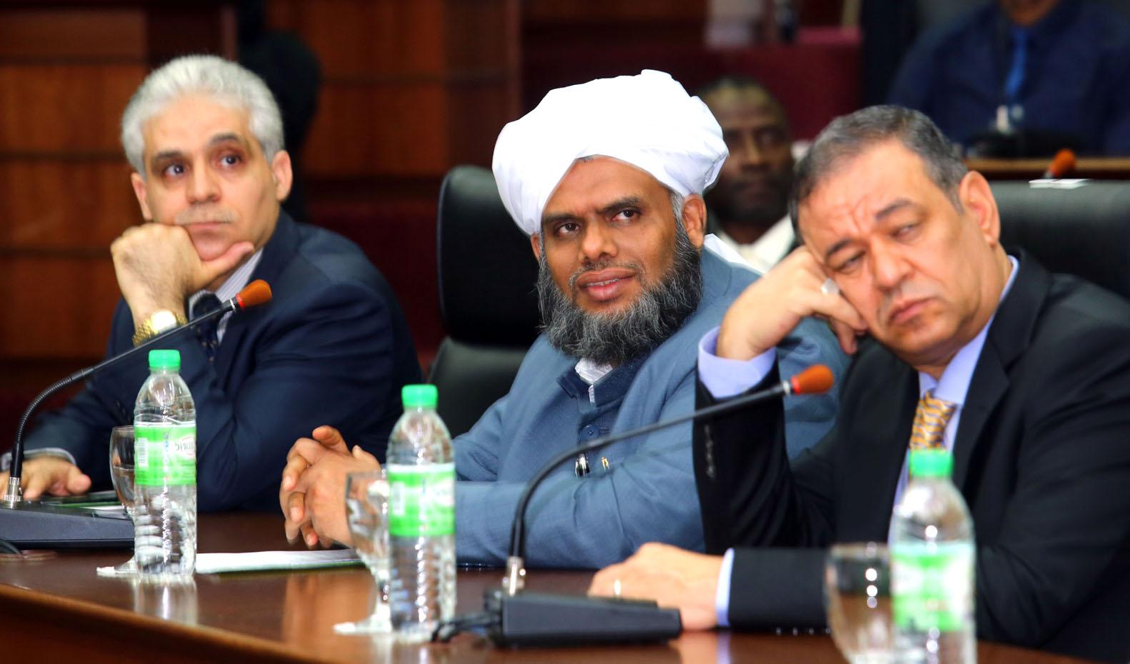 Dr. Nasr Arif, Sayyid Bukhari and Prof. Berghout.jpg