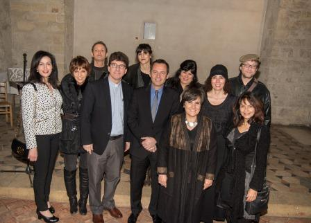 50-Participating artists at Paris opening with PGC and Mr. Eric Falt, UNESCO.jpg
