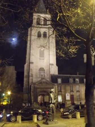 1-Eglise Saint Germain des Pres at night.jpg