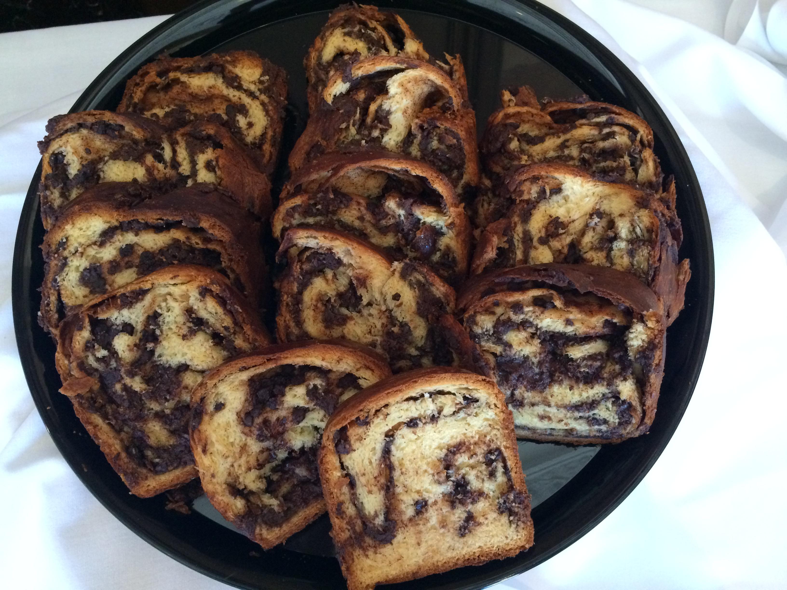 Interfaith Festival-Jewish Student Union's chocolate babka.JPG