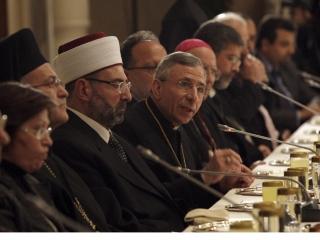 King Abdullah II of Jordan meets Religious Leaders - Pic 1