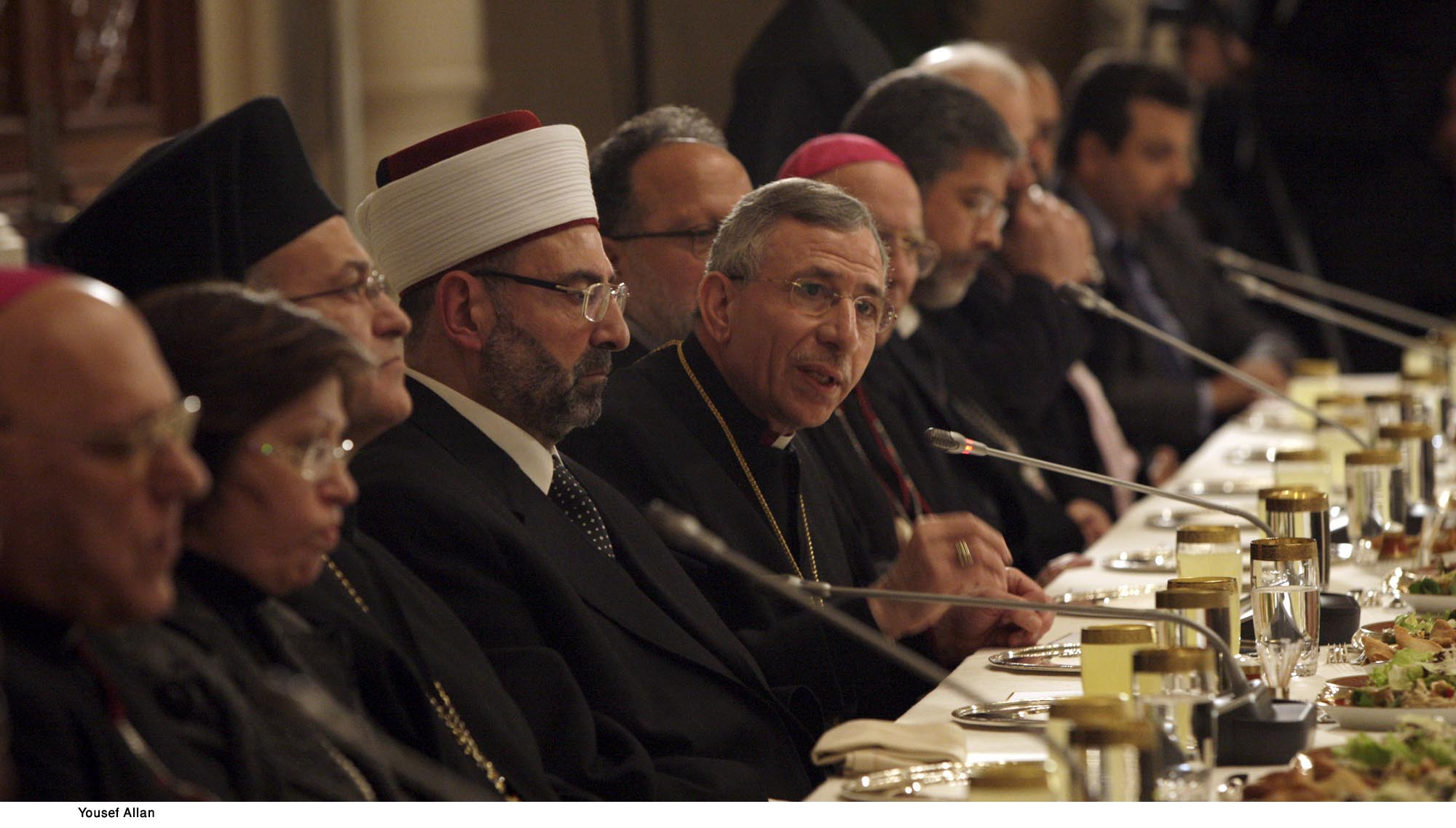 King Abdullah II of Jordan meets Religious Leaders - Pic 1