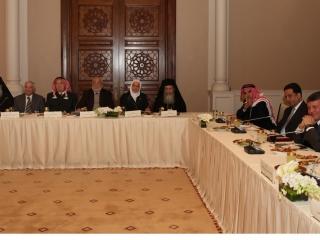 King Abdullah II of Jordan meets Religious Leaders - Pic 2