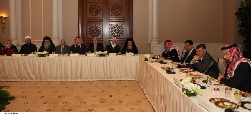 King Abdullah II of Jordan meets Religious Leaders - Pic 2