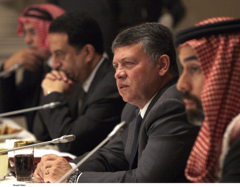King Abdullah II of Jordan meets Religious Leaders - Pic 3
