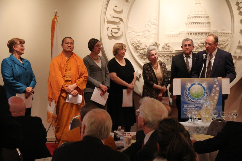 The World Interfaith Harmony Week 2012 at Washington Times Foundation - Pic 5