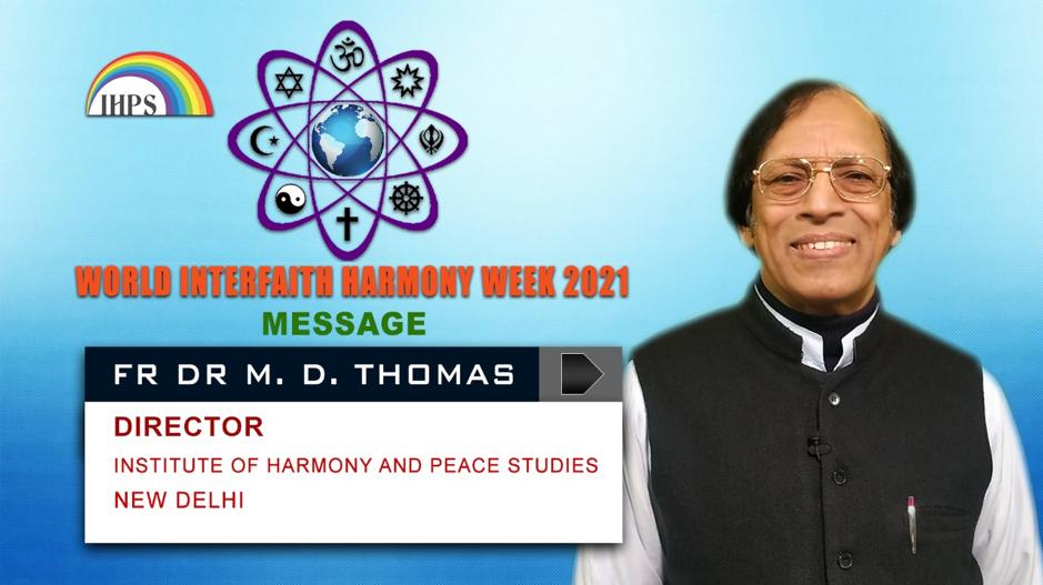 Celebrating World Interfaith Harmony Week 2021