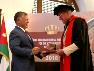HM Abdullah - Award Ceremony - 2